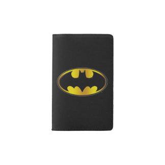 Batman Symbol | Oval Gradient Logo Pocket Moleskine Notebook