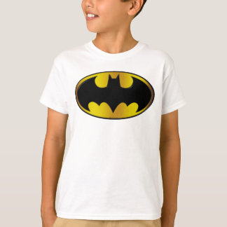 Batman Symbol | Oval Gradient Logo T-Shirt