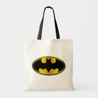Batman Symbol | Oval Gradient Logo Tote Bag