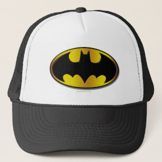 Batman Symbol | Oval Gradient Logo Trucker Hat