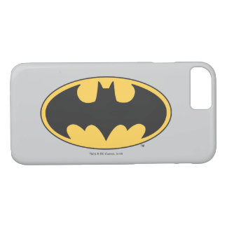 Batman Symbol | Oval Logo 2 iPhone 8/7 Case