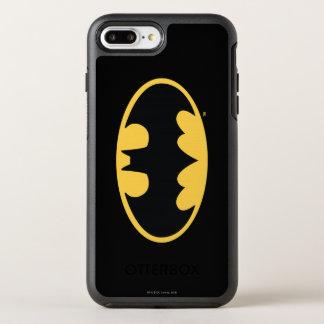 Batman Symbol | Oval Logo 3 OtterBox Symmetry iPhone 7 Plus Case