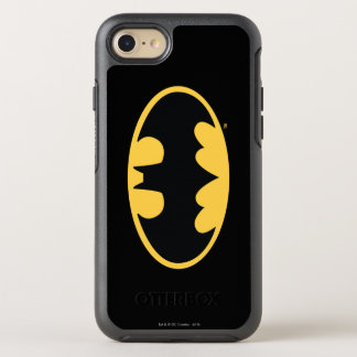 Batman Symbol | Oval Logo 3 OtterBox Symmetry iPhone 8/7 Case