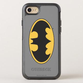 Batman Symbol   Oval Logo 4 OtterBox Symmetry iPhone 8/7 Case