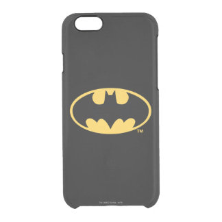 Batman Symbol | Oval Logo Clear iPhone 6/6S Case