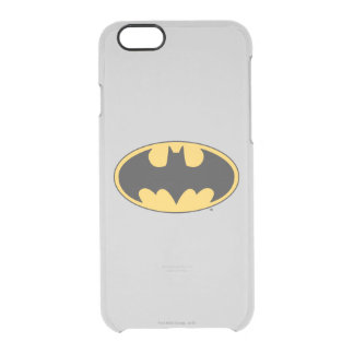 Batman Symbol | Oval Logo Clear iPhone 6/6S Case