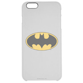 Batman Symbol | Oval Logo Clear iPhone 6 Plus Case