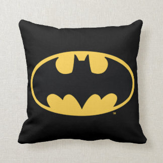 Batman Symbol | Oval Logo Cushion