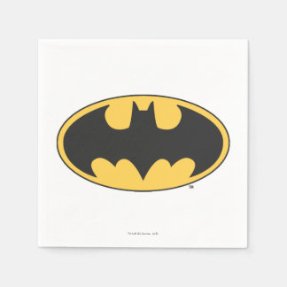 Batman Symbol | Oval Logo Disposable Serviette