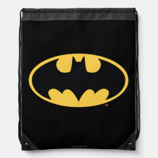 Batman Symbol | Oval Logo Drawstring Bag