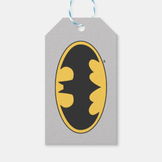 Batman Symbol | Oval Logo Gift Tags