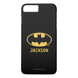 Batman Symbol | Oval Logo iPhone 7 Plus Case