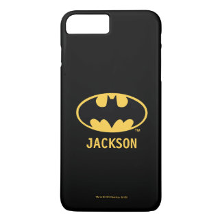 Batman Symbol | Oval Logo iPhone 8 Plus/7 Plus Case