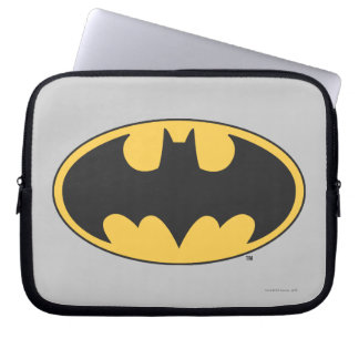 Batman Symbol | Oval Logo Laptop Sleeve