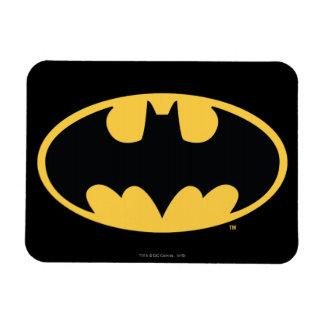 Batman Symbol   Oval Logo Magnet
