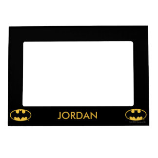 Batman Symbol | Oval Logo Magnetic Picture Frame