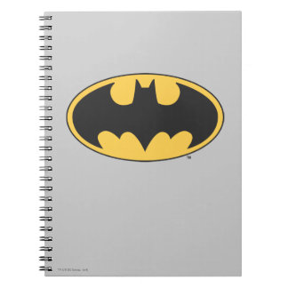 Batman Symbol | Oval Logo Notebook