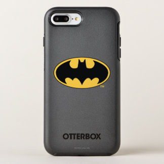 Batman Symbol   Oval Logo OtterBox Symmetry iPhone 8 Plus/7 Plus Case