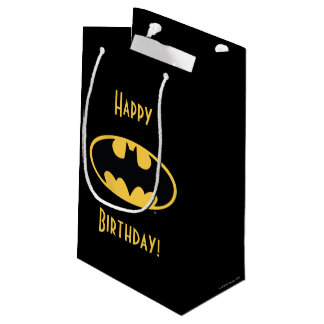 Batman Symbol | Oval Logo Small Gift Bag