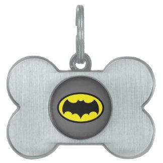 Batman Symbol Pet ID Tag