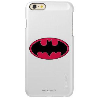 Batman Symbol | Red Black Logo iPhone 6 Plus Case