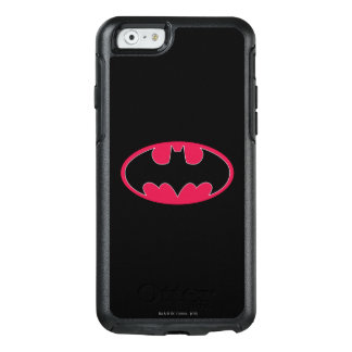Batman Symbol | Red Black Logo OtterBox iPhone 6/6s Case