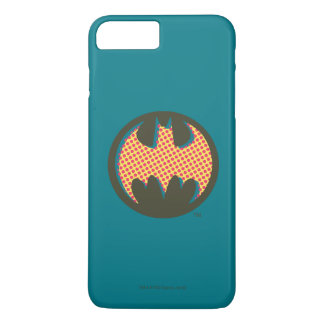 Batman Symbol | Red Halftone Logo iPhone 8 Plus/7 Plus Case