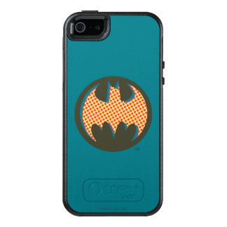 Batman Symbol | Red Halftone Logo OtterBox iPhone 5/5s/SE Case