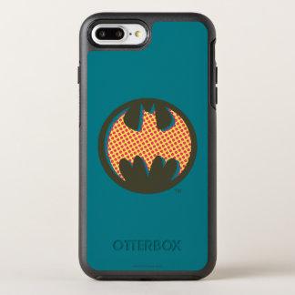 Batman Symbol | Red Halftone Logo OtterBox Symmetry iPhone 7 Plus Case