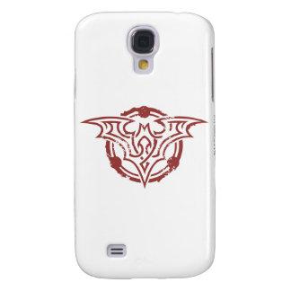 Batman Symbol | Red Outline Urban Logo Galaxy S4 Case