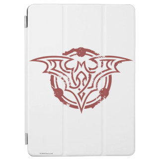 Batman Symbol | Red Outline Urban Logo iPad Air Cover