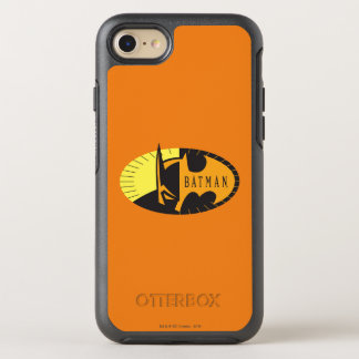 Batman Symbol | Silhouette Logo OtterBox Symmetry iPhone 8/7 Case