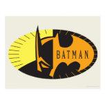 Batman Symbol | Silhouette Logo Postcard