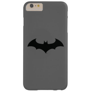 Batman Symbol | Simple Bat Silhouette Logo Barely There iPhone 6 Plus Case