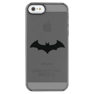 Batman Symbol | Simple Bat Silhouette Logo Clear iPhone SE/5/5s Case