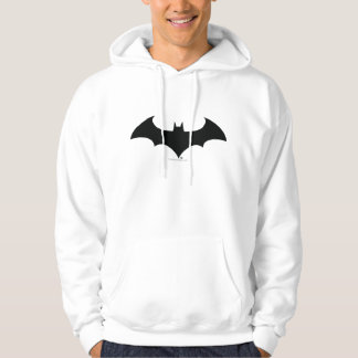 Batman Symbol | Simple Bat Silhouette Logo Hoodie