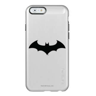 Batman Symbol | Simple Bat Silhouette Logo Incipio Feather® Shine iPhone 6 Case