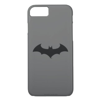 Batman Symbol | Simple Bat Silhouette Logo iPhone 8/7 Case