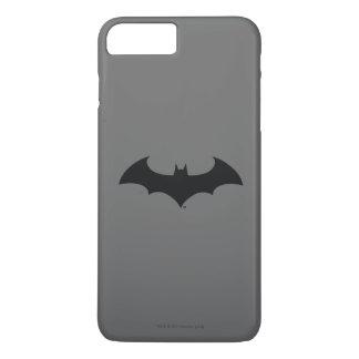 Batman Symbol | Simple Bat Silhouette Logo iPhone 8 Plus/7 Plus Case
