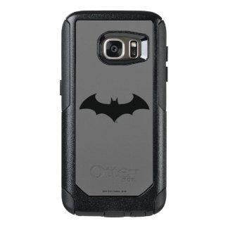 Batman Symbol | Simple Bat Silhouette Logo OtterBox Samsung Galaxy S7 Case