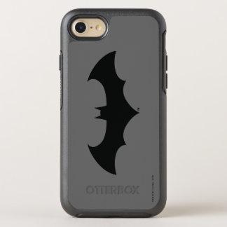 Batman Symbol | Simple Bat Silhouette Logo OtterBox Symmetry iPhone 7 Case