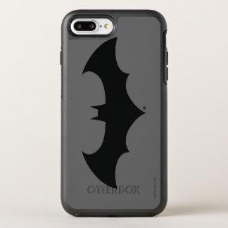 Batman Symbol | Simple Bat Silhouette Logo OtterBox Symmetry iPhone 7 Plus Case
