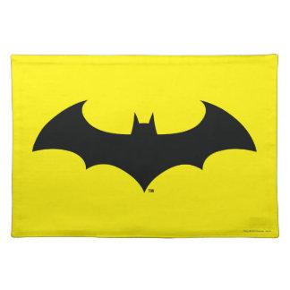 Batman Symbol | Simple Bat Silhouette Logo Placemat