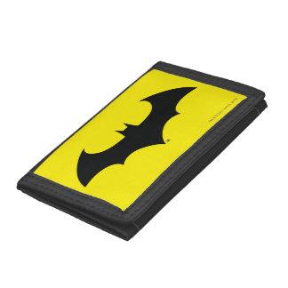 Batman Symbol   Simple Bat Silhouette Logo Trifold Wallets