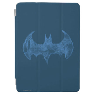 Batman Symbol | Sketchbook Light Blue Logo iPad Air Cover