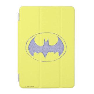 Batman Symbol   Sketchbook Purple Logo iPad Mini Cover