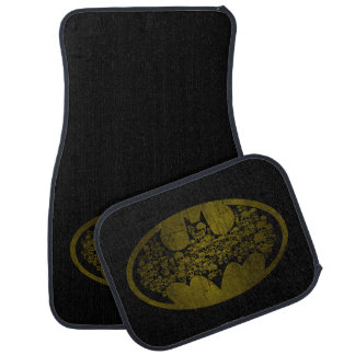 Batman Symbol | Skulls in Bat Logo Car Mat