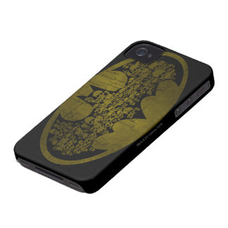 Batman Symbol   Skulls in Bat Logo iPhone 4 Case-Mate Cases