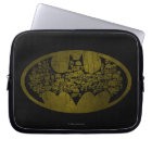 Batman Symbol | Skulls in Bat Logo Laptop Sleeve
