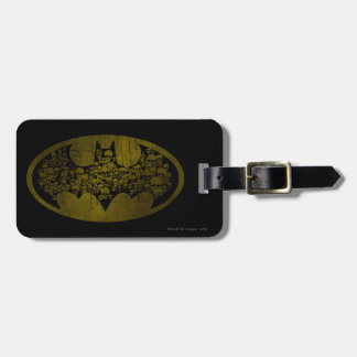 Batman Symbol | Skulls in Bat Logo Luggage Tag
